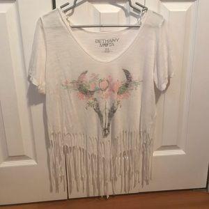 Aeropostale Fringe T-Shirt